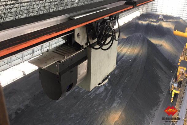 煤仓顶棚柔性导轨式3D激光无人盘煤机器人在国内成功推广应用
